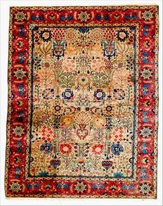 antique Tabriz rugs