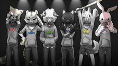 Osomatsu-san- Osomatsu, Karamatsu, Choromatsu, Ichimatsu, Jyushimatsu, and Todomatsu #Anime「♡」 Otaku, Ichimatsu, Masks Art, Memento Mori, Anime Love, My Hero Academia, Joker, Geek Stuff, Fandoms