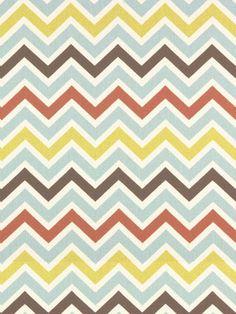 ZOOM 1118 VILLAGE/NATURAL #chevrons #multi-colored #print-fabrics