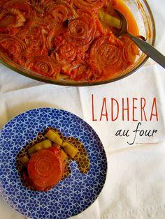 """Les haricots """"à la grecque"""" cuisson au four ou la recette de """"ladhera"""" au four de ma belle-mère"""