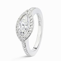 East+West+Marquis+Ring | East/West Marquise Cut Diamond Ring | Engagement Rings | H Jewels ...