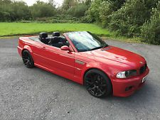 BMW M3 CONVERTIBLE 2004 IMOLA RED MANUAL EXCELLENT CONDITION.. NO PX.. NO SWOP..