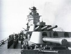 Divisions on board HMS Rodney.