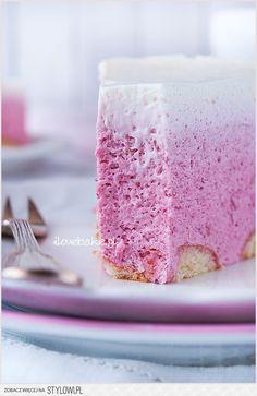 » Sernik na zimno na jogurtach greckich z musem malinow…