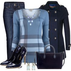 Pumps and Jeans Outfit
