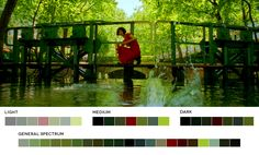 Jean-Pierre Jeunet. Amelie, 2001. Cinematography: Bruno Delbonnel. #cinematography #colour