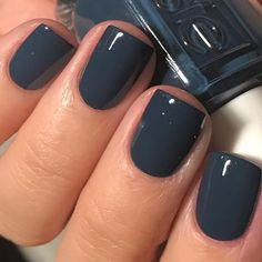 "5,785 Likes, 348 Comments - Nicole Young Wild and Polished (@youngwildandpolished) on Instagram: ""Excuse the glare....Essie On Your Mistletoes from the Winter 2017 line. Super saturated deep blue…"""