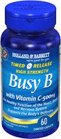 Timed Release Busy B Complex with Vitamin C (500mg) | Holland & Barrett