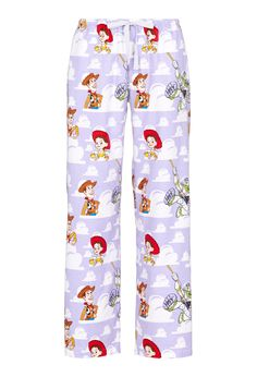 $60 Toy Story Woody And Friend Flannelette Pj Pant | Peter Alexander