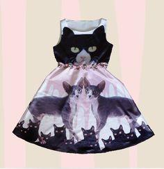 so special cat dress