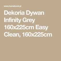 Dekoria Dywan Infinity Grey 160x225cm Easy Clean, 160x225cm