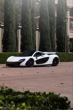 McLaren P1.  My dream car- one of them