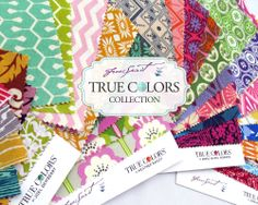 NEW True Colors Collection by FreeSpirit Fabrics - Blog Tour Starts Today!