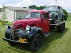 1946 DODGE 1 1/2 TON STAKE TRUCK. Owned by Bob and Judy von Bernuth of ...