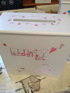wedding post box available to order from Revival