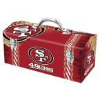 Team ProMark 7.2 in. San Francisco 49ers NFL Tool Box, Multi-Color