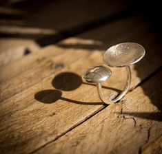 SALE 20 OFF  Floating Ring in Sterling by MademoisellEthniChic, $75.00