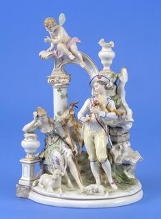 Figurines of Meissen porcelain. Discussion on LiveInternet - Russian Service Online Diaries