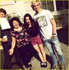 Our favorite foursome is back! That's right - Ross Lynch, Laura Marano, Raini Rodriguez, and Calum Worthy have officially started filming the fourth season