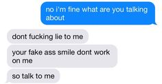 "Goals: to find someone who sees behind my, ""I'm fine"" like this"