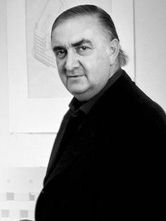 James Stirling, Influenciados por las obras tardías de Le Corbusier, Stirling y su socio diseñaron varios edificios que marcaron un nuevo estilo, combinando en las fachadas el ladrillo con el hormigón visto. Premio Pritzker en 1981.