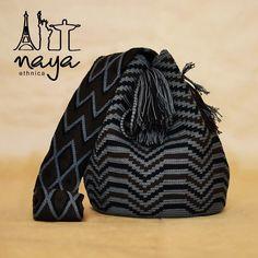 """ถูกใจ 41 คน, ความคิดเห็น 1 รายการ - Naya Ethnica (@nayaethnica) บน Instagram: """"A wayuu bag with ethnic patterns in sober colors gives a touch of elegance to your outfit. Un…"""""""