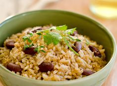 dominican moro (rice and beans) - serve with jerk chicken