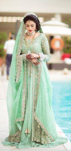 Pakistani Bridal Gown Elan Impressed Backyard of Night Mist Robe Pakistani Indian Bollywood Bridal Gown Pakistani Bridal Lehenga, Bollywood Bridal, Pakistani Wedding Dresses, Pakistani Outfits, Indian Dresses, Indian Outfits, Indian Bollywood, Wedding Sarees, Desi Wedding