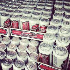 Hi Neighbor, Have a Gansett--The famous tag line for Narragansett Beer, #RI