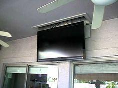 Znalezione obrazy dla zapytania hang tv from ceiling mount
