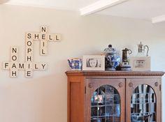 Wood tile letters | Craftcuts.com