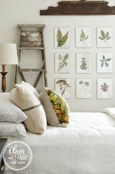 A collection of acrylic wall hangings using my still for Beautiful bedroom pictures me