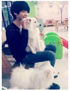 puppy~park hyung seok #ulzzang #korean