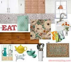 Interior Design Inspiration Board: Playroom and Greatroom