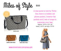 Miles of Style by Thirty One, Spring 2016