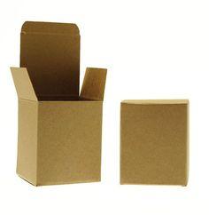 Folding Box for 27cl Jars - Kraft