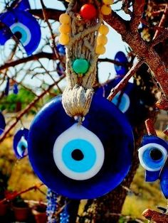 Evil Eye - keeping away the evil thoughts
