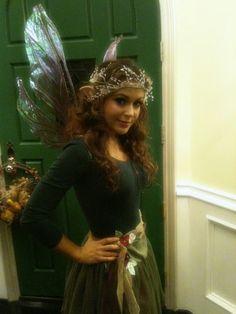 Fairy costume. Is this Alyssa Milano?