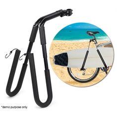 Surfboard Bicycle Carrier Rack Surfboard Bike Rack, Surf Store, Bike Trailer, Best Luggage, Garage Storage, Golf Clubs, Kayaking, Skateboard, Cycling