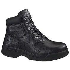 Wolverine Wolverine Slip Resist BT Boots (Black) - Men's Boots - 8.5 2W