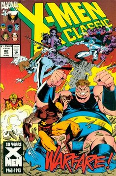 X-Men Classic # 82 by Joe Madureira & Bob Wiacek