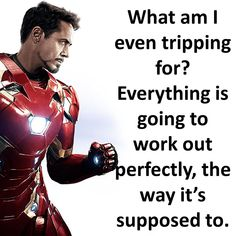 Iron Man motivational lines Motivational Lines, Inspirational Quotes, Iron Man Quotes, Movie Quotes, Life Quotes, Line Video, Best Iron, Marvel Quotes, Life Advice