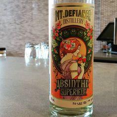 My new favorite #local absinthe from @mtdefiance #vaspirits by catoctincreek