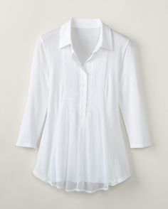 Nice White from Cold Water Creek goes nice with a pair of Jeans,