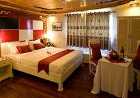 madam moon cruise in Bai Tu Long Bay & Ha Long Bay / Promotion Rates / Deluxe double room on boat