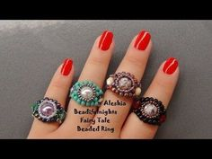 Handmade Jewelry Elegant Trio Ring - YouTube