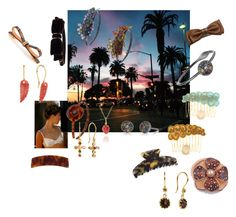 Amazing hair clips handmade in France by shambalaparadise-21 on Polyvore featuring Alexandre de Paris