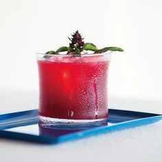 Use the ripest, juiciest blackberries         or raspberries for this cocktail.
