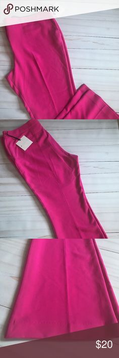 """Victoria Beckham For Target Women's Pants 24 W New with tags Victoria Beckham For Target women's trouser pants plus size 24 W. The inseam is 32"""" and the rise is 15"""". The waist lying flat is 23"""".  The bottom hem have dust from touching the store floor. Victoria Beckham for Target Pants Trousers"""