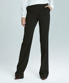 Look what I found on #zulily! Black Trouser Pants #zulilyfinds